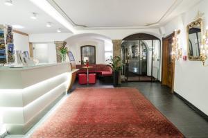 Lobby/Rezeption in der Unterkunft Hotel Mondschein