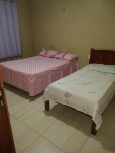 A bed or beds in a room at Casa Pico Alto