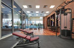 The fitness center and/or fitness facilities at Four Points by Sheraton Kuala Lumpur, Chinatown