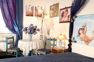 Area soggiorno di B&B DolceVirginia