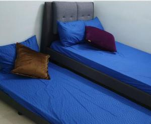 A bed or beds in a room at dPiazza opposite SPICE
