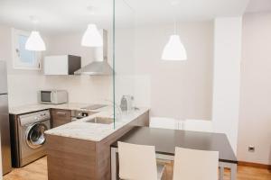 Una cocina o zona de cocina en Cal Miquel