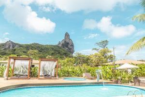 A piscina localizada em Dolphin Hotel ou nos arredores