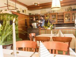A restaurant or other place to eat at Landhotel Waldeck
