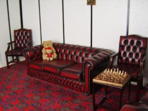 A seating area at The Vernon