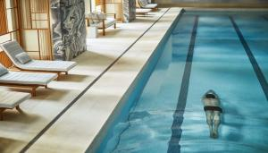 The swimming pool at or near Four Seasons Hotel New York Downtown