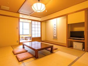 A television and/or entertainment center at Yuzanso