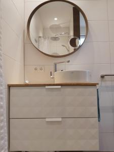 Een badkamer bij Luxury Suite Oosterwold