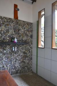 A bathroom at Cocotinos Sekotong Lombok