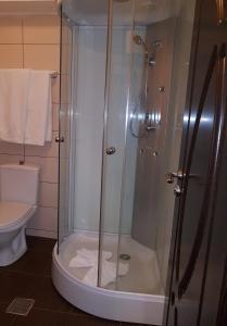 Ванная комната в Vila Crinul