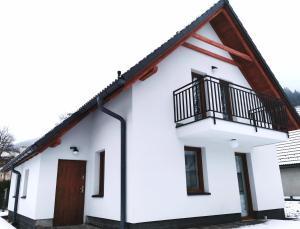 Budynek, w którym mieści się kompleks wypoczynkowy