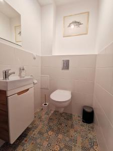 Łazienka w obiekcie Goorskie - domki w Szczyrku