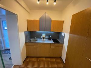 A kitchen or kitchenette at Landhaus Florian