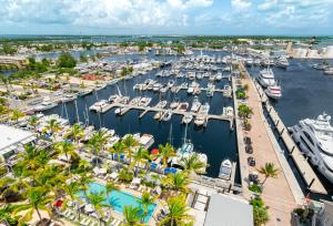 A bird's-eye view of The Perry Hotel & Marina Key West