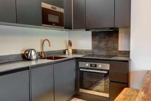 A kitchen or kitchenette at Hy Hotel Lytham St Annes BW Premier Collection