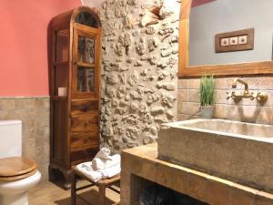 A bathroom at Mil Estrelles