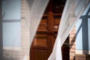 Кровать или кровати в номере Rifugio Da Giulia