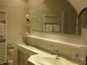 A bathroom at Pension Churlis
