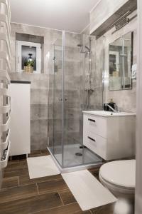 Łazienka w obiekcie Szmaragd