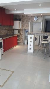 A kitchen or kitchenette at EL PATAGON viviendas