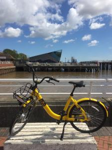 Cycling at or in the surroundings of Hull Trinity Backpackers