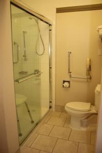 Ein Badezimmer in der Unterkunft Ramada by Wyndham Edmonton South
