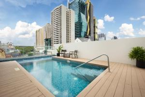 The swimming pool at or near Holiday Inn Panama Distrito Financiero, an IHG Hotel