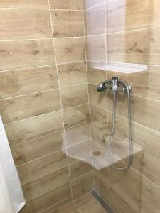 Kúpeľňa v ubytovaní apartmán jeruzalemská