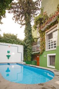 The swimming pool at or near La Casa Verde