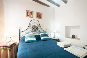Cama o camas de una habitación en Casa Canales