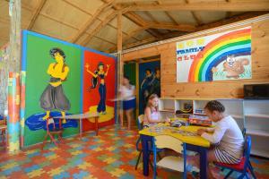 De kidsclub van Vincci Nozha Beach