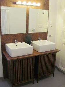 Salle de bains dans l'établissement Artist Guest House