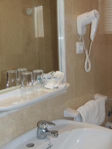 A bathroom at Hotel Chipiona