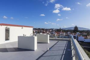 A balcony or terrace at Hotel Sete Cidades