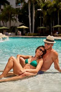 The swimming pool at or near Seminole Hard Rock Hotel & Casino Hollywood