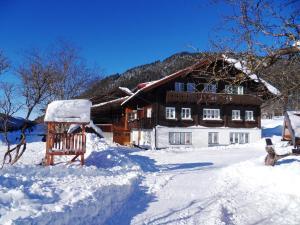 Sattlehnerhof v zimě