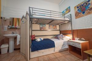 A bunk bed or bunk beds in a room at Hotel San Desiderio
