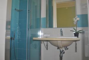 Un baño de Hotel Stella D'Oro