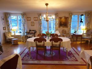 En restaurang eller annat matställe på Myskje Gård Gästgiveri
