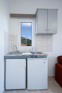 Η κουζίνα ή μικρή κουζίνα στο Dimitris Studios