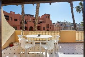 Un balcón o terraza de Espanhouse Aldea