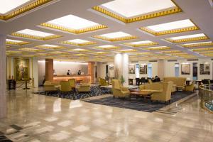 The lobby or reception area at The Tawana Bangkok