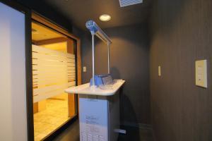 A bathroom at Hotel Regina Kawaguchiko