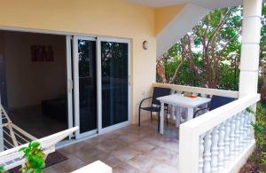 Een balkon of terras bij Wayaca Mini Resort