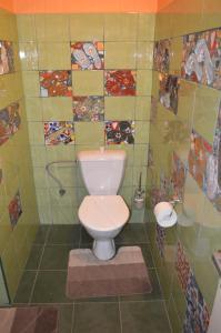 Koupelna v ubytování Penzion Medvedi Paseka