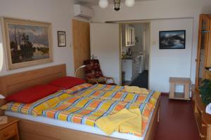 Postel nebo postele na pokoji v ubytování Penzion Jarmilka