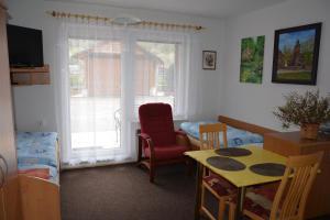 Posezení v ubytování Penzion Jarmilka