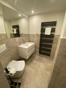 A bathroom at Smart Resorts Azur