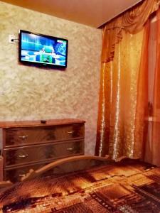 Телевизор и/или развлекательный центр в Apartment Druzhby 32