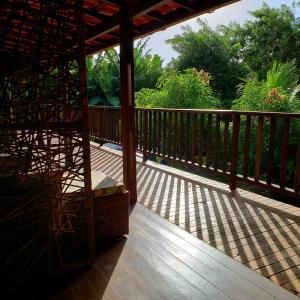 Uma varanda ou terraço em Pousada Seu Dodó